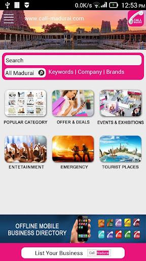 Call Madurai Bizz Directory