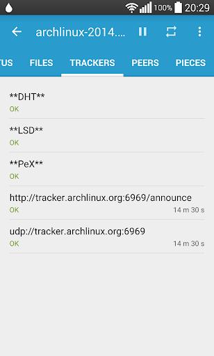 Flud - Torrent Downloader 1.4.9 screenshots 6