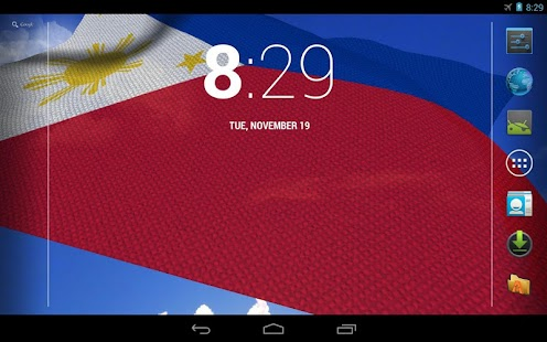 3D Philippines Flag LWP - screenshot thumbnail