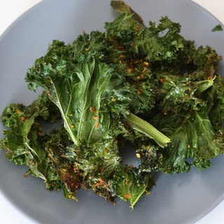 Curry Kale Chips For Lazy Cooks [vegan]