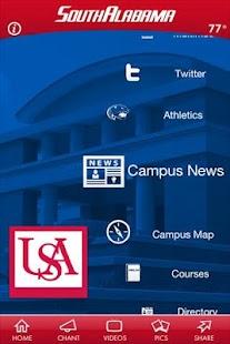 University of South Alabama- screenshot thumbnail