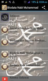 Biodata Nabi Muhammad - náhled