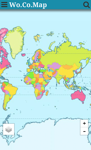 World Countries Map