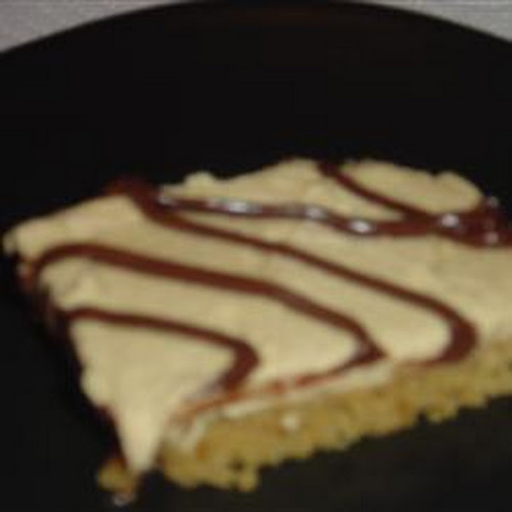 Frosted Peanut Butter Bars Recipe