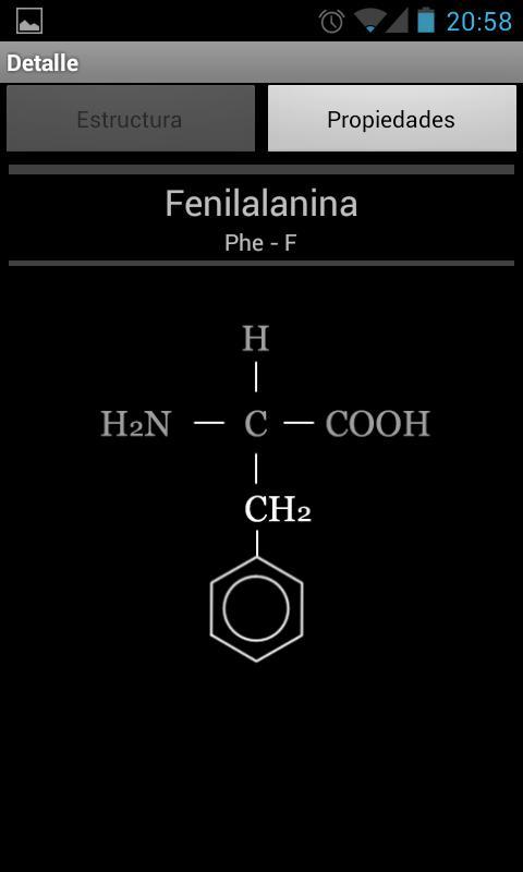 Amino Acids- screenshot