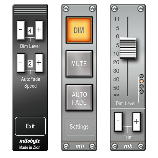 AudioBar媒体音量小工具 音樂 App LOGO-硬是要APP