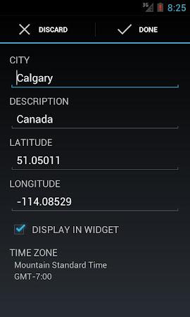 World Clock & Weather Widget 1.8.3 screenshot 530700