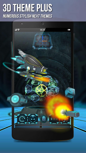 Next Launcher 3D Shell poster