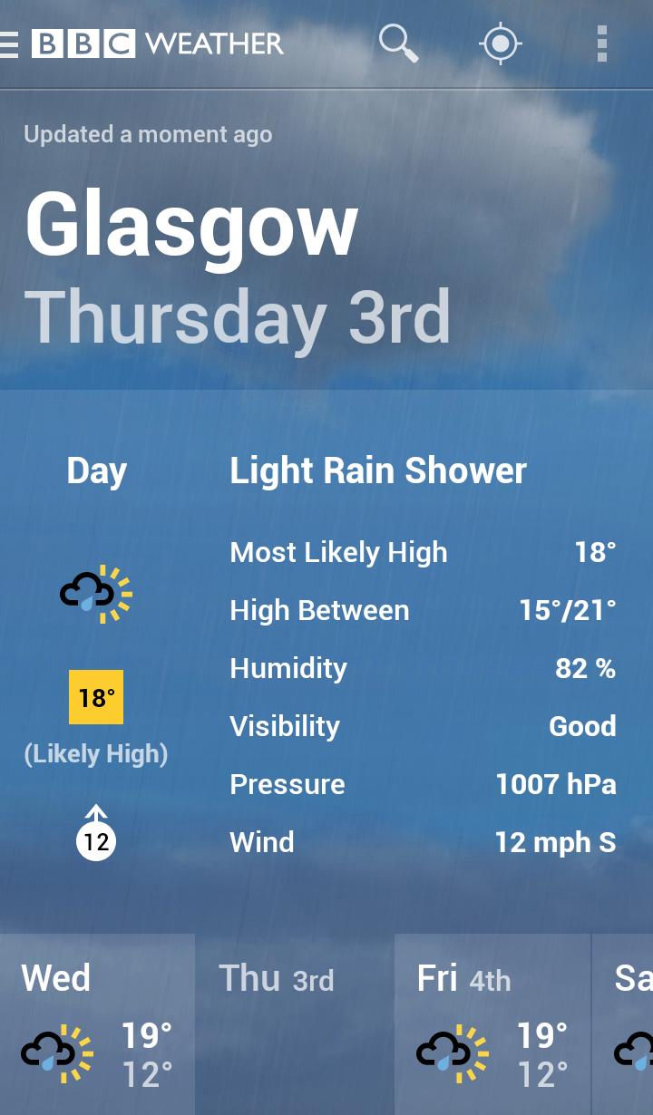 BBC Weather screenshot #4