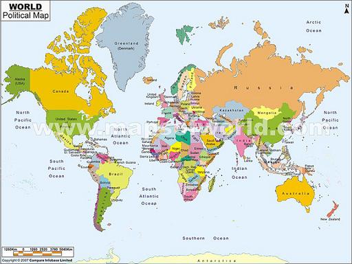 World Map Info