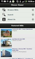 Screenshot of Historic Mill Pictures App