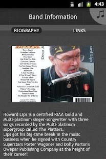 Howard Lips Music - screenshot thumbnail
