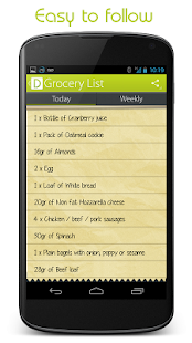 Dietista - Your Nutritionist- screenshot thumbnail