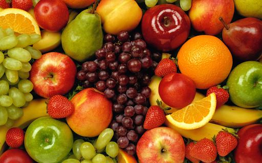 フルーツのジグソーパズル