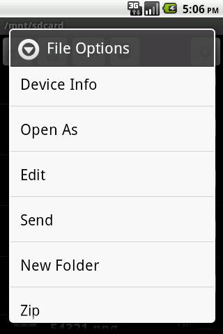 BL File Explorer- screenshot