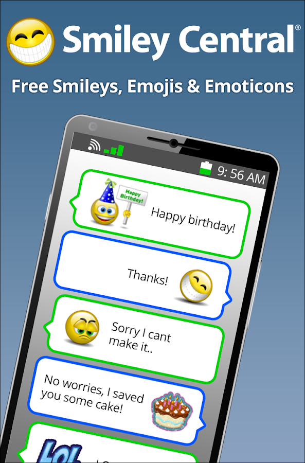 Smiley Central Emojis- screenshot
