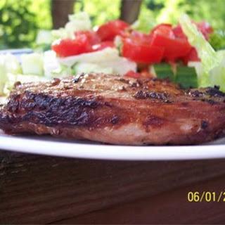 Grilled 'Fusion' Pork Chops Recipe