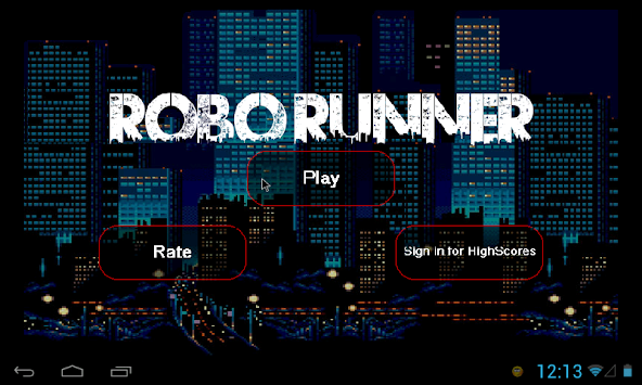 ROBO Runner apk screenshot
