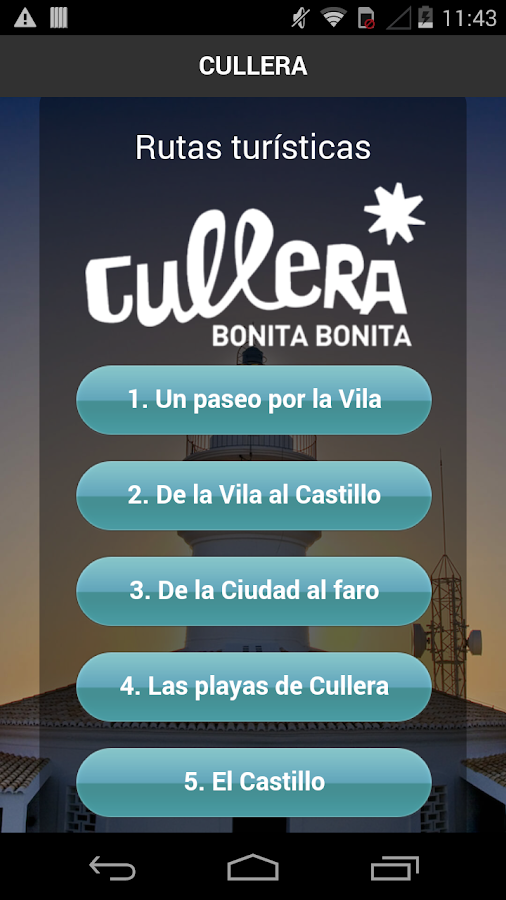 Audioguía Cullera- screenshot