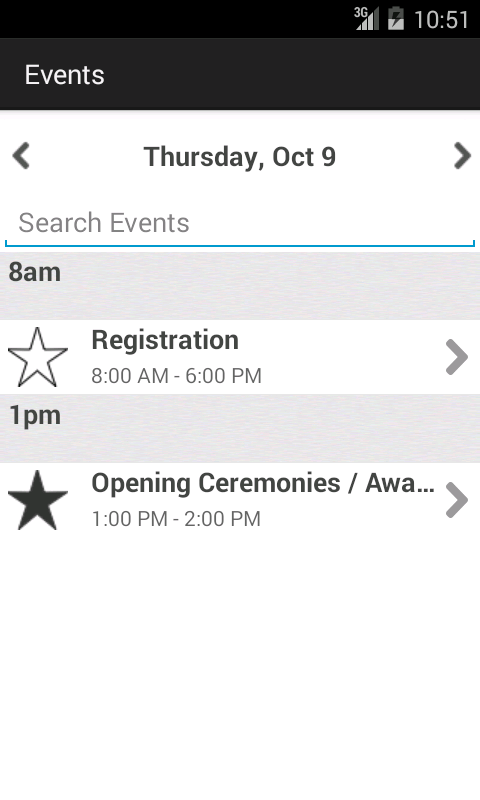 AES Mobile Convention - LA '14 - screenshot