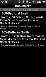 iNextBus Realtime Bus Tracker - screenshot thumbnail