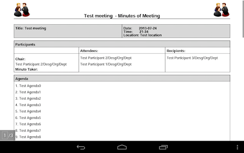 Meeting Minutes Pro- screenshot thumbnail