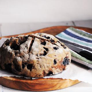 Blueberry, Oat & Buckwheat Loaf.