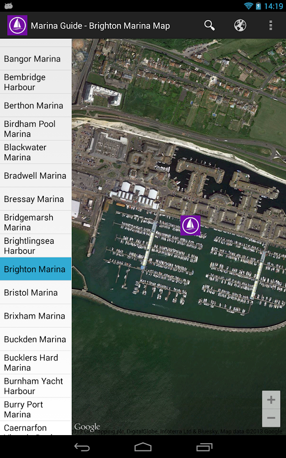Marina Guide- screenshot