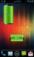 Screenshot of Dual Battery Widget