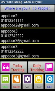 GPS Call Tracking Lite Version