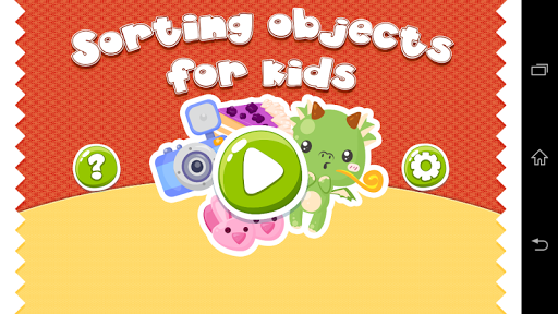 Sorting Objects For Kids