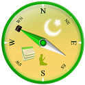 Qibla Compass & Prayer Times icon