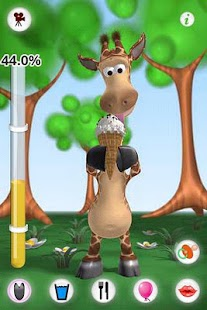 Talking Gina the Giraffe Free - screenshot thumbnail
