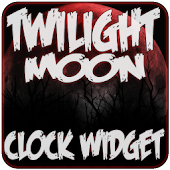 Twilight Moon Clock Widget