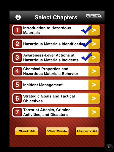 【免費教育App】HazMat 4th Flashcards-APP點子