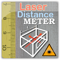 LaserDistanceMeter smart meter icon