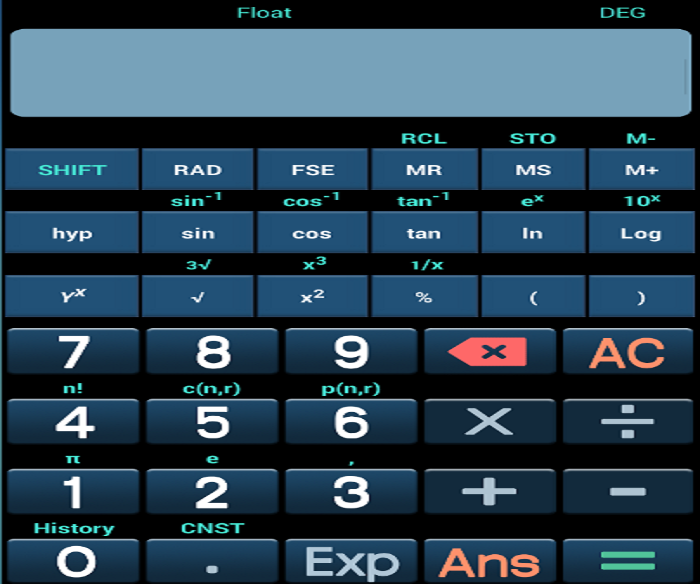 Calculator Complete- screenshot