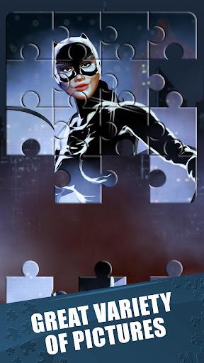 スーパーヒーロー ジグゾーパズル ゲーム