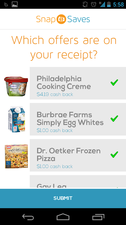 SnapSaves - Grocery Discounts - screenshot