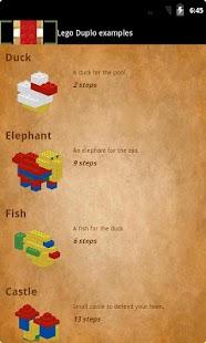 Lego Duplo examples