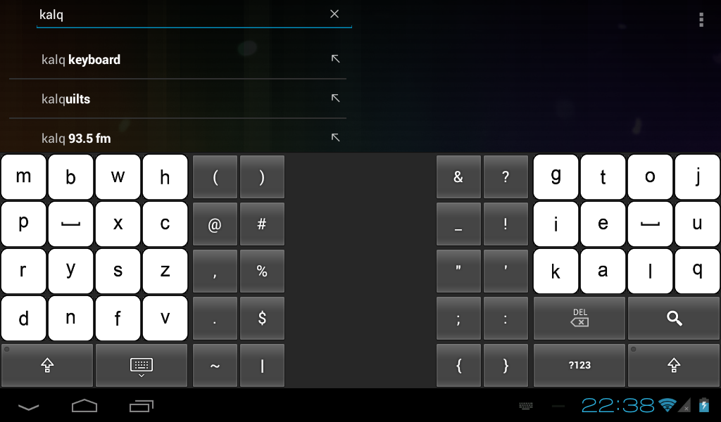 KALQ Keyboard (Official) Beta- screenshot