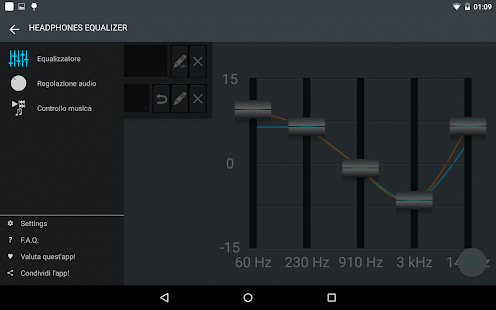 Headphones Equalizer - Music & Bass Enhancer Screenshot