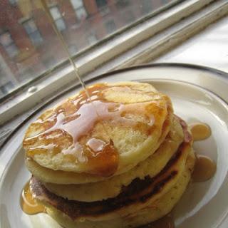 Birthday Buttermilk Pancakes
