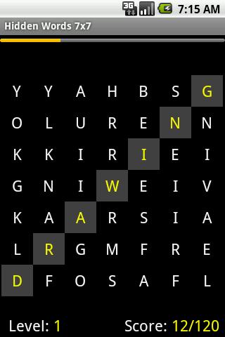 Rainbow Words- screenshot