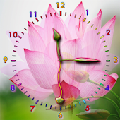 Lotus Flower Clock