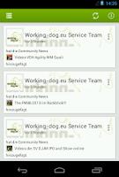 Screenshot of working-dog