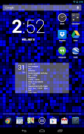 Simple Calendar Widget Screenshot 9