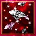 Diamonds Flash Live Wallpaper icon