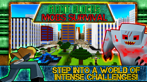 Giant Blocks Mobs Survival