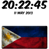 Philippines Digital Clock